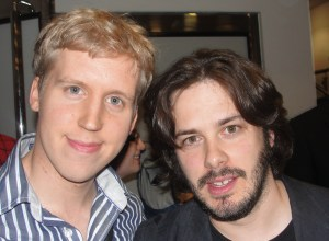 Russell and Edgar Wright